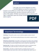 Derivatives Options
