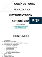 Tecnologia de Punta Aplicada a La Investgacion Astronomic A