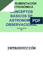 Conceptos Basicos de Astronomia Observacional