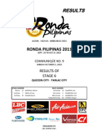 Stage 6 Quezon City-Tarlac