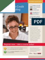 Online Course Catalog
