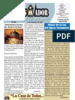 """2011-10-02 Boletín Semanal """"El Conquistador"""" , La Casa de Todos"""