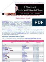 6-Star-Escort (Kuala Lumpur Hotels)