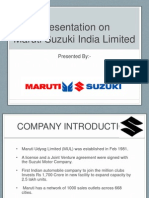 maruti analysis