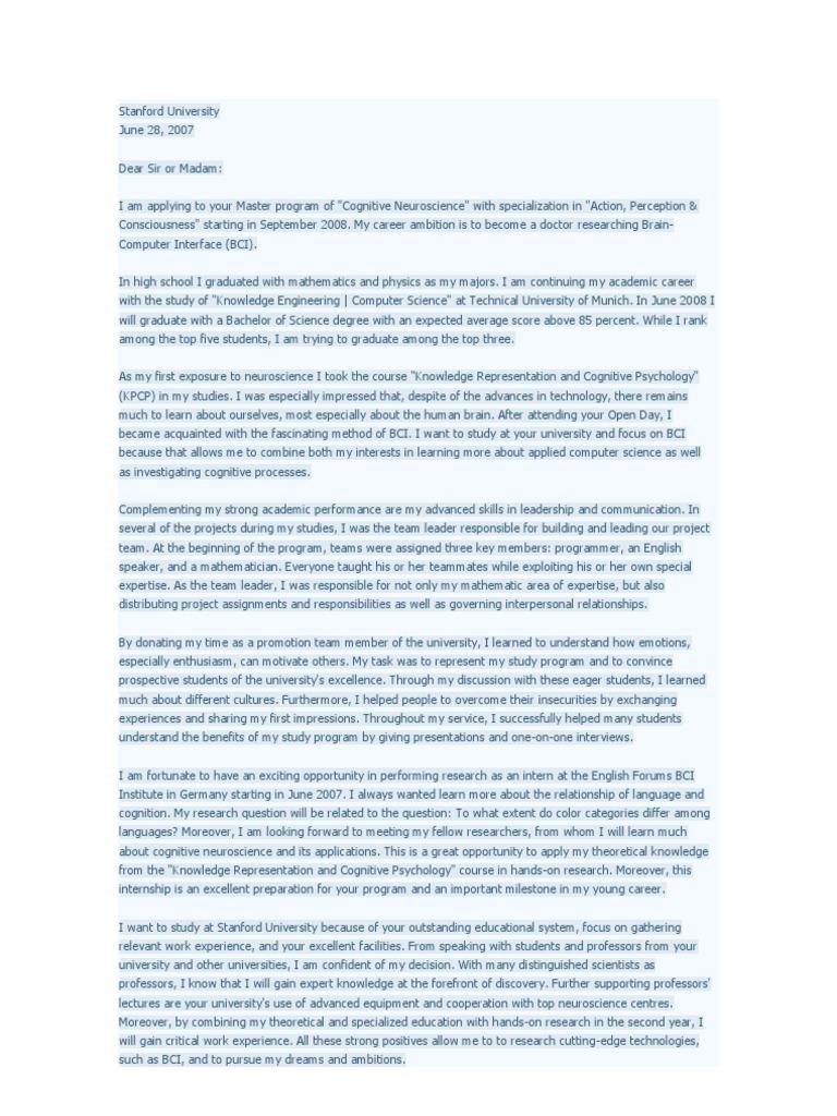 Example of Motivation Letter   Leadership   Leadership & Mentoring