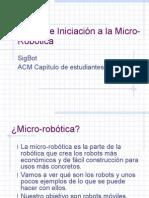 Intro Robotic a 2007