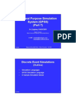 M&S 08 General Purpose Simulation System