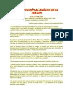 INTRODUCCIÓN AL ANÁLISIS DE LA IMAGEN