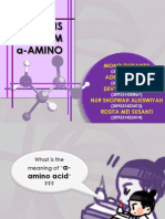 Sintesis Asam Alfa-Amino