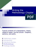 dissertation methodology chapter