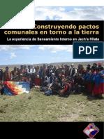 Construyendo Pactos Comunales en Torno a La Tierra