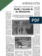 Huellas Dinosaurios - Diario El Mundo