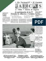 Huellas Dinosaurios - Lunes 12 julio 1999 - Diario Jaén