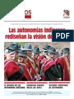 Dialogos en Democracia Nro 2 Autonomías indígenas rediseñan la visión del Estado