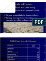 Harta Drumuri in Romania