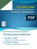 ISO 9000 - 2008 - Awareness Training