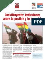 Diálogos en Democracia Nro. 14  Constituyente