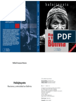 Halajtayata Racismo y Etnicidad en Bolivia