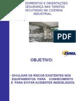 Orientação de Seg Cozinha Industrial