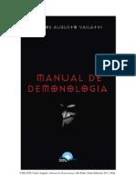 Livro Manual de Demonologia - Autor Carlos Augusto Vailatti