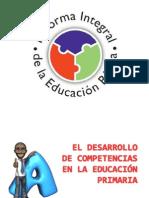 El Desarrollo de Compatencias en La Educacion Primaria