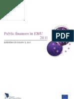 EU - Public Finances - September 2011