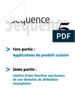 Applications Du Produit Scalaire - Limites de Fonctions Et Asymptotes
