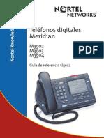 Telefonos Meridian Serie 3902