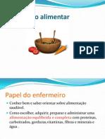 ORIENTAÇÃO ALIMENTAR