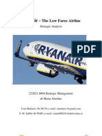 Strategic Management - Ryanair