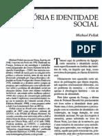 Memoria e Identidade Social_pollak