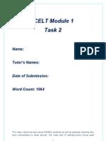 ICELT Module 1 Task 2