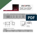 REATOR LA. V. METÁLICO 1000W-1500W ANSI M7-M48