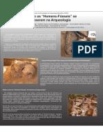 """Como os """"Homens-Fósseis"""" se Inserem na Arqueologia"""