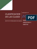 Clasificacion de Las Clases