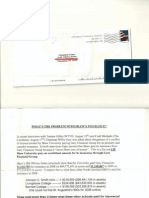 Anonymous Mailing; Very Serious Allegations Regarding Willie Gary & Insurance Conflict