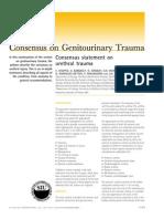 Consensus Statement on Urethral Trauma 2004