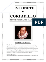 Nicolete y Cortadillo.-Mguel de Cervantes Saavedra