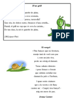 Poemes d'animals invertebrats