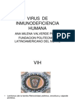 Virus de Inmunodeficiencia Humana