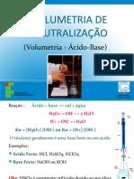 volumetria de neutralização 2011