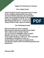 Driving Protocol