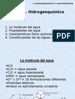 Tema 15. Hidrogeoquímica