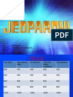 Cell Jeopardy 1