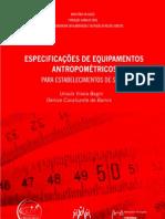Livro Especificações de equipamentos 2011