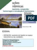 1-Edema Congestao Hiperemia Hemorragia e Hemostasia-1