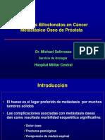 Bifosfonatos en el tratamiento del cáncer de Próstata