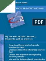 1 Vascular Investigations