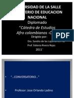 Historia de los afrocolombianos- Orlando Ladino