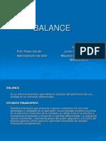 Presentacion Balance
